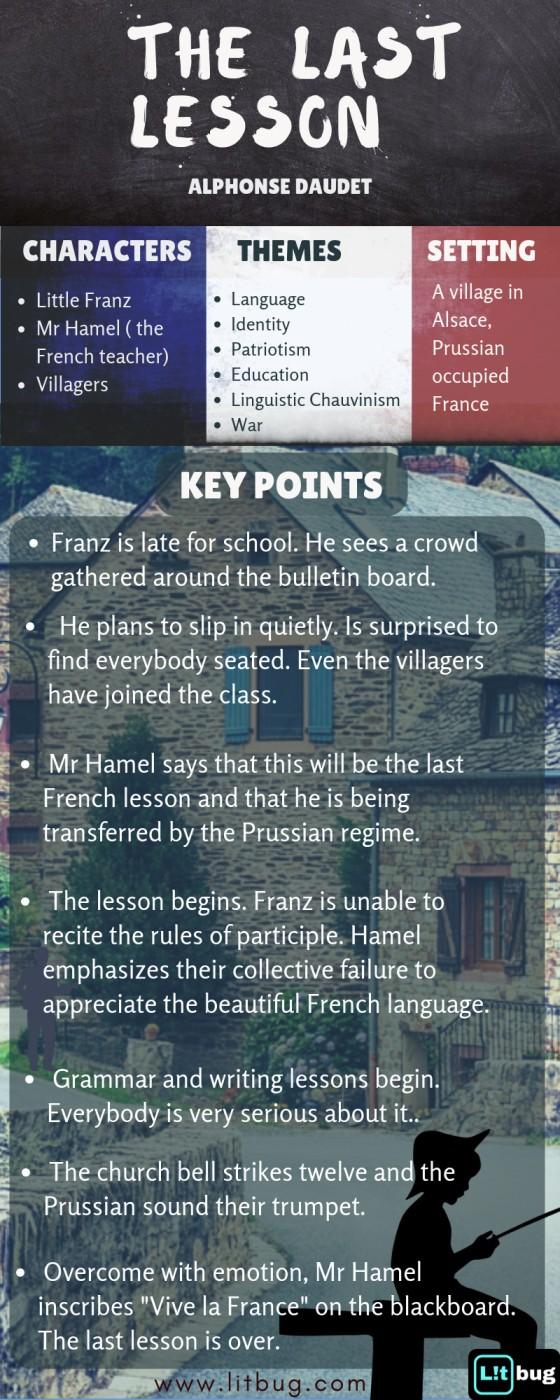 Summary & Analysis of the Last Lesson by Alphonse Daudet
