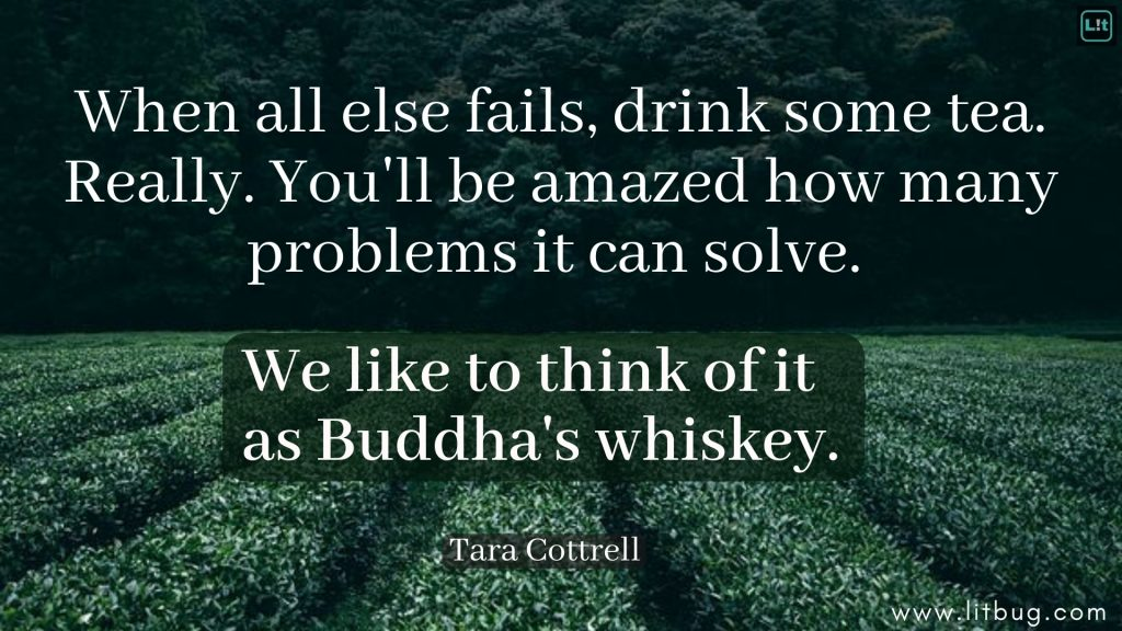 Buddha's whiskey- tea